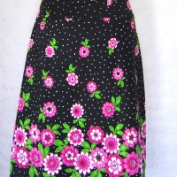 Jupe taille haute Caravane pink Flowers