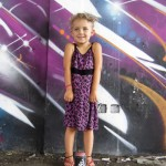 Kokot Dress Purple Leopard